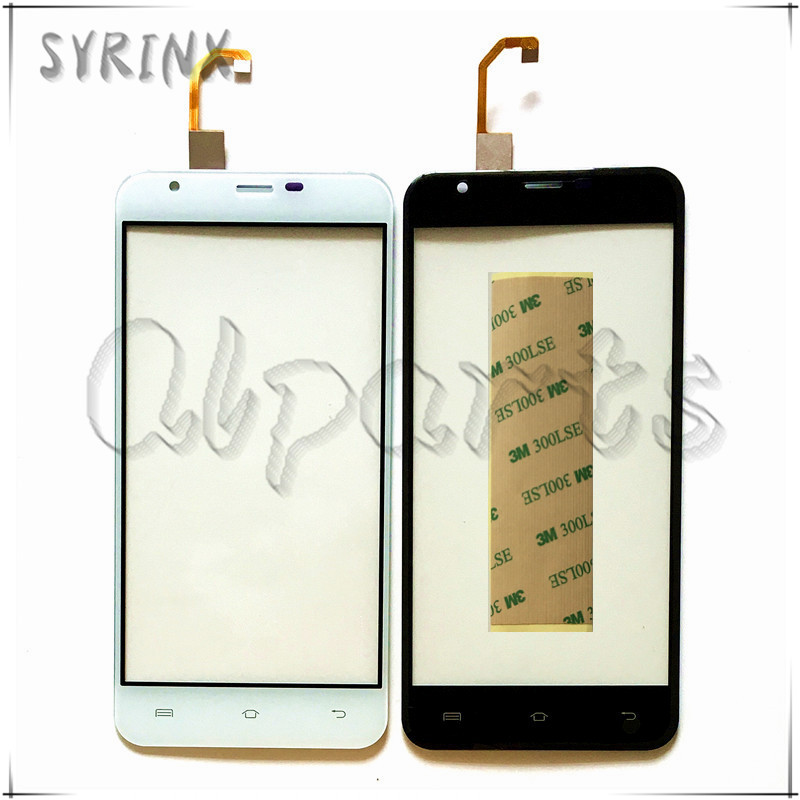 Syrinx + Tape Mobile Phone Touch Panel Sensor For Oukitel U7 Max Touch Screen Digitizer Front Glass Lens Replacement Touchscreen