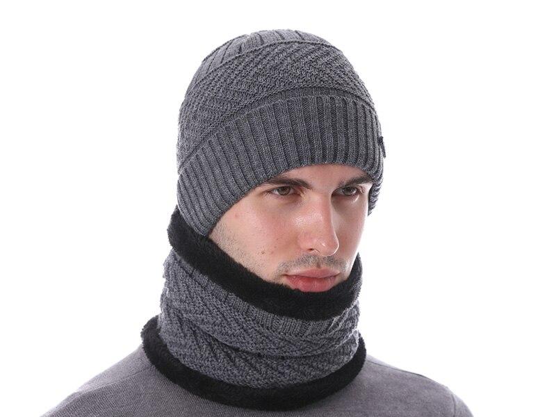 قبعات مع وشاح للرجال 16