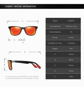 Image 5 - DUBERY رجل يستقطب القيادة النظارات الشمسية النساء الفاخرة العلامة التجارية مصمم الرياضة في الهواء الطلق التشطيب نظارات شمسية مربع مرآة UV400