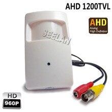 Mini AHD camera 3.7mm lens 1200TVL 960P 1.4megapixel PIR Camera CCTV pinhole security camera indoor AHD mini camera ahd mini kam