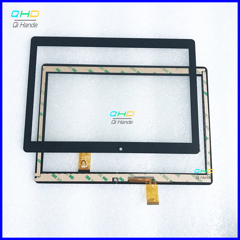 New Touch Screen Digitizer For 10.1'' Inch XHSNM1003101B V0 Tablet Touch panel sensor replacement <font><b>Digma</b></font> Plane <font><b>1550S</b></font> 3G PS1163MG image