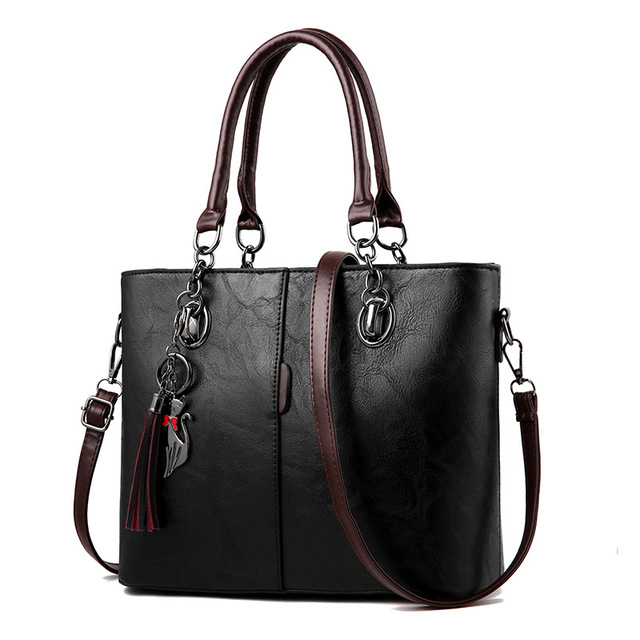 9fd10b49668 US $24.29 19% OFF|2018 new Luxury Handbags Women Bag Designer 2018 Big  Ladies Hand Bag For Women Solid Shoulder Bag Outlet Europe Leather  Handbag-in ...