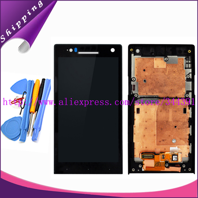 Original tested LCD For Sony Ericsson Xperia S LT26 LT26i LCD Display Touch Screen Digitizer With
