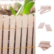 Hot New Natural Wooden Ice Cream Stick DIY art craft for kids 11.4*10cm