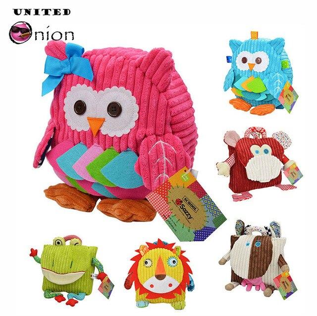 25cm Boys Girls Backpack Shoulder Snack Bag Toddlers Animals Daypack  Children baby Kindergarten Preschool Nursery School d67dd8fac76bd