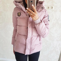 To Film A New Cotton Padded Jacket Female Han Edition Cultivate One S Morality Show Thin