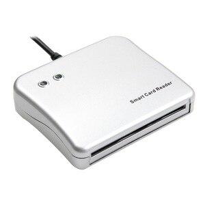 Image 2 - Łatwe komunikacji USB czytnik kart inteligentnych IC/czytnik dowodów osobistych wysokiej jakości Dropshipping PC/SC czytnik kart inteligentnych dla systemu Windows system operacyjny Linux