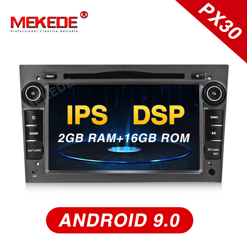 PX30 series Android 9 0 car dvd radio player for Opel Astra h g Zafira B