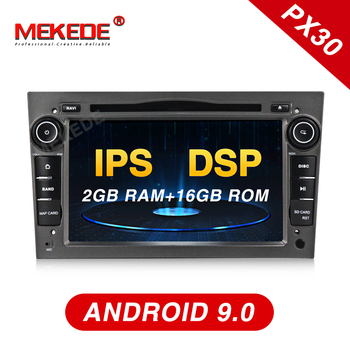PX30 series! Android 9.0 car dvd radio player for Opel Astra h g Zafira B Vectra C D Antara Combo with gps navigation IPS DSP