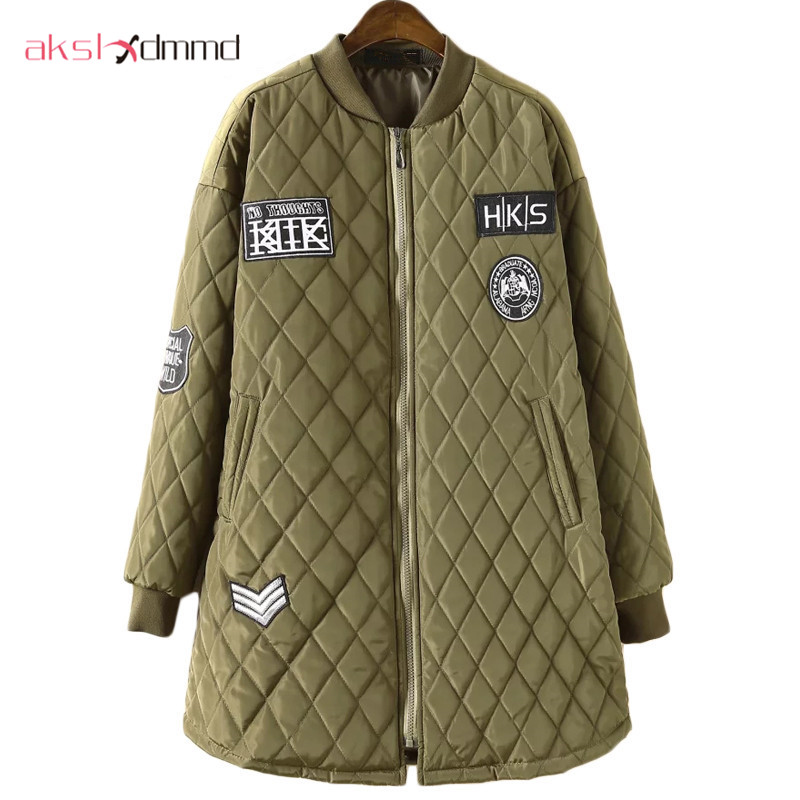AKSLXDMMD Plus Size 100kg Women Winter Jacket 2017 New A-shaped Cotton Padded Jackets and Coats Loose Mujer Coat Parkas LH458