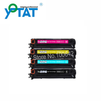 Color Toner Cartridge CE410A CE411A CE412A CE413A For HP Laserjet Pro 300 400 M375nw M451dw M451dn