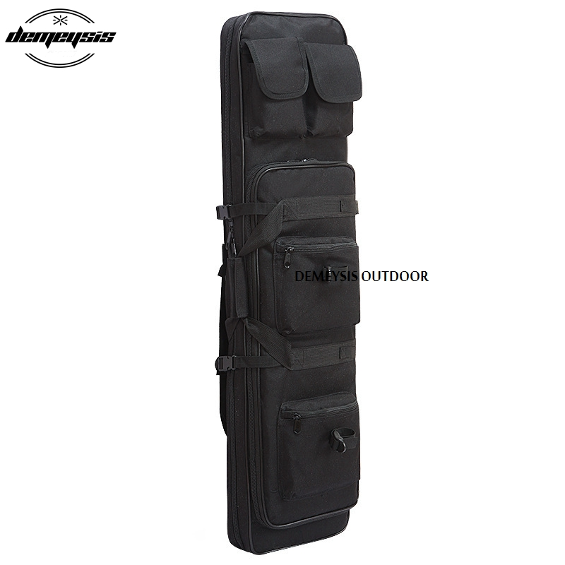 Us 26 21 46 Off Military Hunting Backpack Airsoft Square Gun Bag Nylon Tactical Shotgun Protection Case In Bags