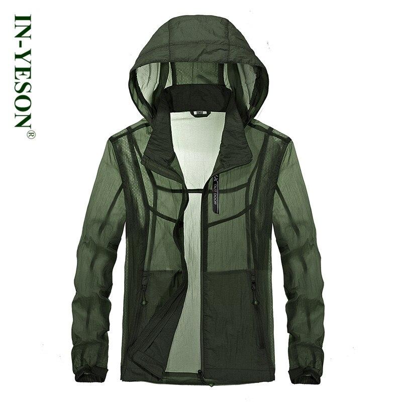 Новый Солнцезащитная куртка мужская одежда 2018 лето тонкая куртка солнцезащитный крем в ...