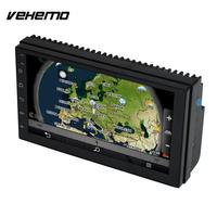 Vehemo Bluetooth Mirror Link 2Din 7 Inch Car MP5 Automobile Car Electronics MP5 Player Remote Control Car Audio DC 12V
