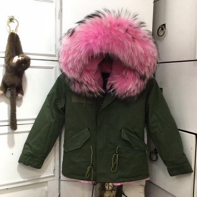 Super 2017 Automne et D'hiver Enfants En Fausse Fourrure Manteau  ZC02