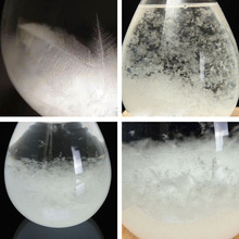 Weather Forecast Crystal Tempo Storm Glass Home Decor 6*12cm