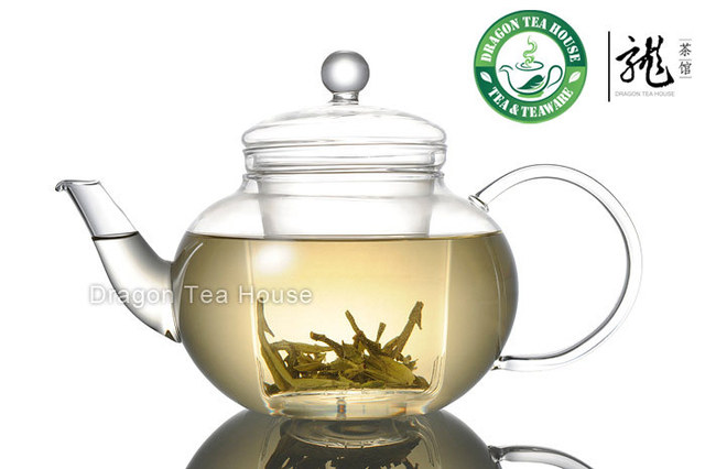 Clear Glass Teapot w/t Infuser 1000ml 33.8 fl oz T001
