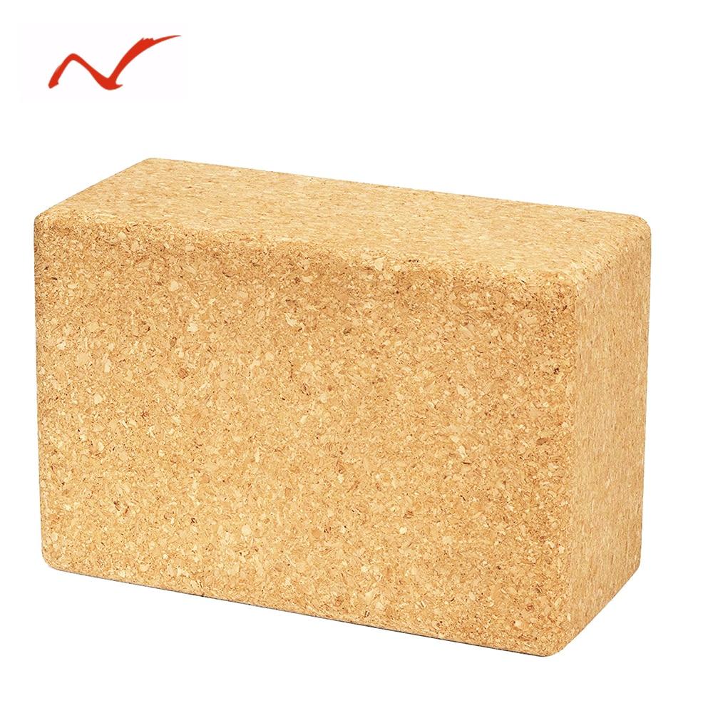 Cork Yoga Block Brick 2 pack Pilates Prop Support Exercise Soft Durable Non-Slip Odor-Free Yoga Nice Aid  yoga blocks 2 pack | Yoga Blocks 2 Pack Cork font b Yoga b font font b Block b font Brick font b 2 b