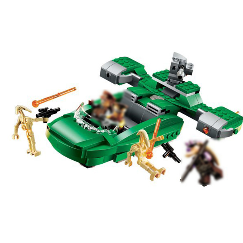 Galleria fotografica <font><b>Legoing</b></font> <font><b>Star</b></font> plans Series Imperial transport boats 75091 311 Building Blcok set Brick compatible 10463 Toys for children Gift