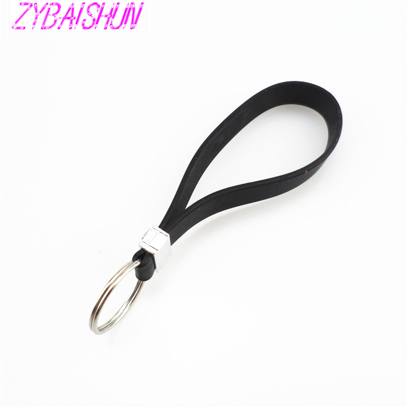 Новые силиконовые Key длинные браслет ключ ложка Портативный брелок для peugeot 206 207 208 301 307 308 407 2008 3008 4008