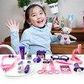 Doctor toys дети притворись play house toys детский медицинский комплект classic toys Моделирование медицина для мальчиков и девочек