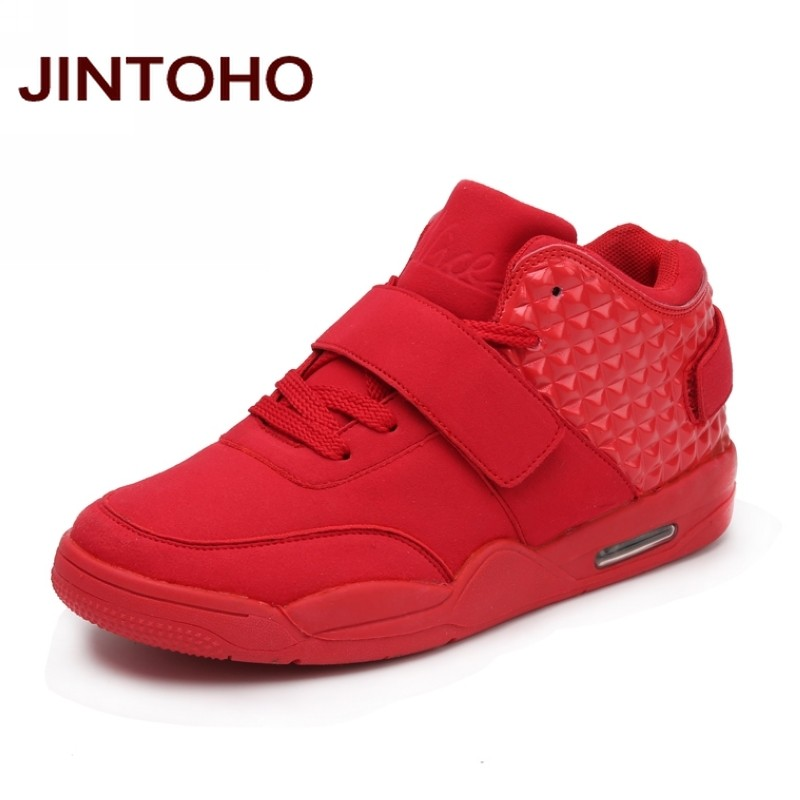 watch e3b2c 64d7e JINTOHO Men Basketball Shoes Athletic Sneakers Men Sport Shoes Outdoor  Cheap Basketball Sneakers Comfort Walking Boots