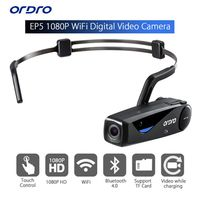24 Hours Shipping ORDRO EP5 Bluetooth 4 0 Hand Free Head Band Action Mini DV Camera