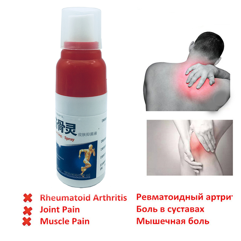 1 Pcs Pain Relief Spray Rheumatism Arthritis Muscle Sprain Knee Waist Pain Back Shoulder Spray Tiger Orthopedic Plaster Cream