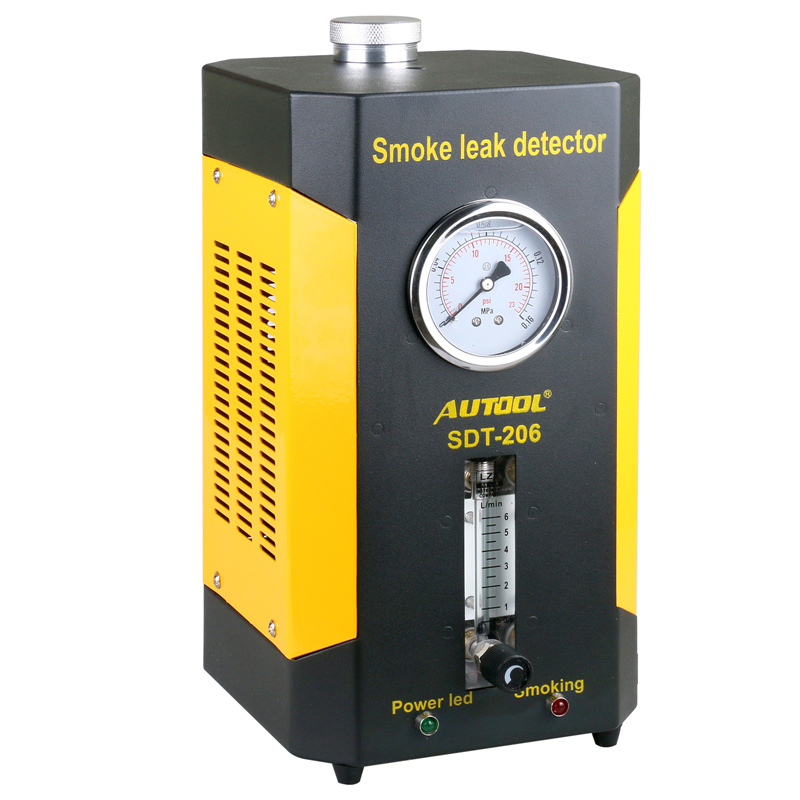 AUTOOL SDT-206 Car Smoke Machines For Cars Leak Locator Automotive Diagnostic Leak Detector SDT206