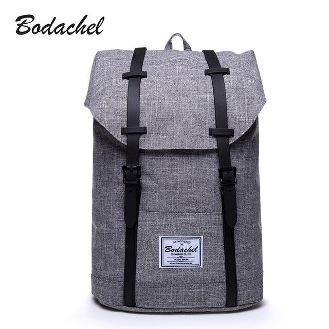 1e172e879d71 Bodachel Backpack Men High Quality Male Backpack School Bags Large Capacity  Bagpack Notebook Backpacks Waterproof Oxford