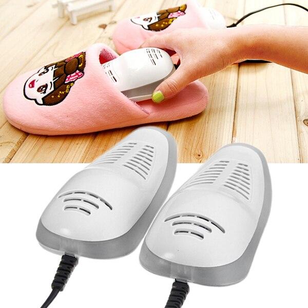 Hohe Qualität Heizung Elektrische Schuhe Trockner Heizung stiefel Schuhe Tragbare UV Entfeuchten Desinfektionsmittel Schuhe wärmer 14 watt AC220V