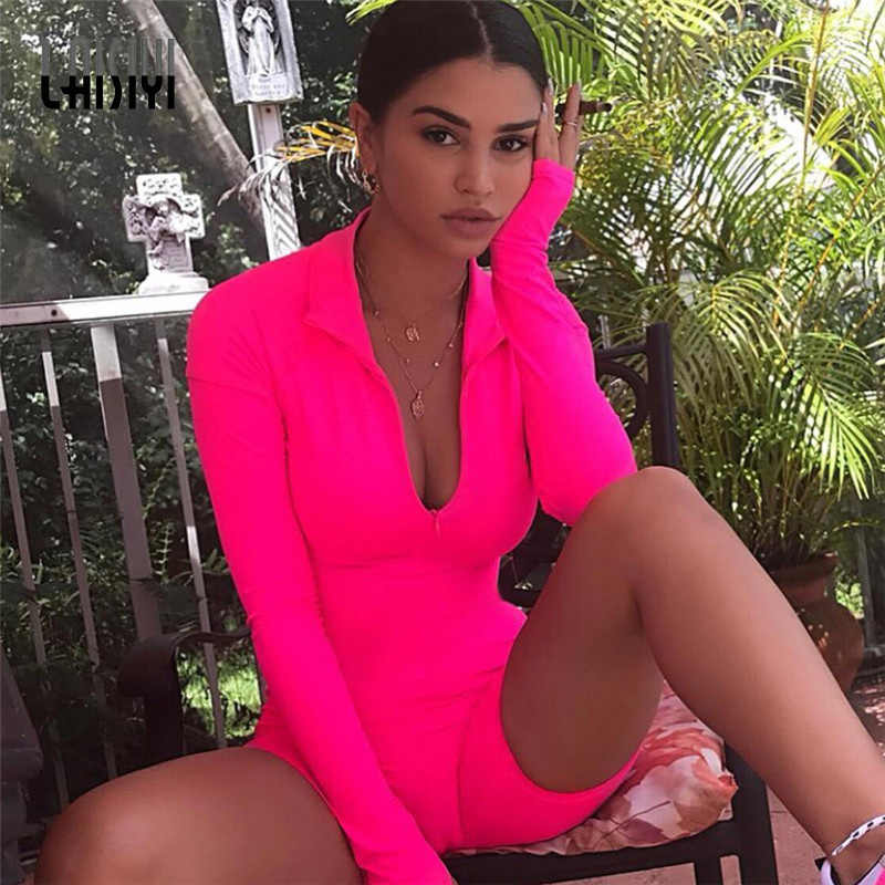 3affb3f7bcc6 LAISIYI 2019 New Women Long Sleeve Playsuits Tight Jumpsuits Spring Summer  Sportswear Running Fitness Training Women