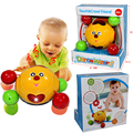 Baby Smile Crawling Toy With Lighting And Music Baby Toys 0-12 Months  Educational Baby Learning Walking Toy
