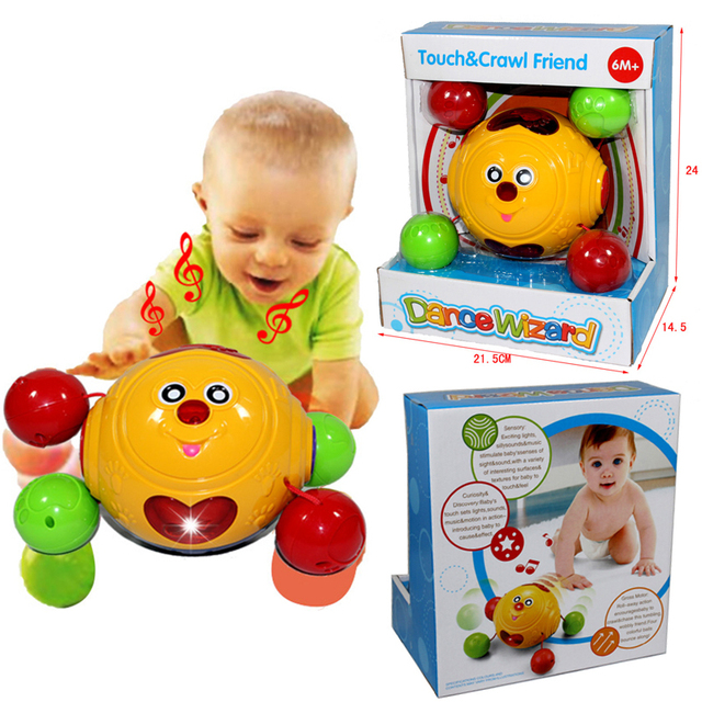 Smile Educational Toys : Baby smile crawling toy with lighting and music toys