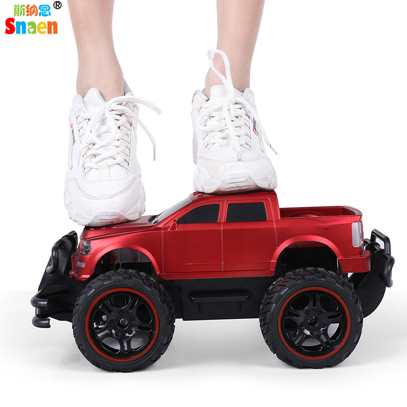 Snaen RC Afstandsbediening Elektronische Auto Off Road Truck High Speed Racing Jeep voor Kids, Oplaadbare, duurzaam en Gemakkelijk te Controle-in RC Auto´s van Speelgoed & Hobbies op  Groep 2