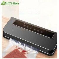 Lifresher Kitchen Vacuum Food Sealer With 25cm/Roll food Seal Bags Automatic Electric Food Vacuum Sealer Packaging Machine 220V|Vacuum Food Sealers| |  -