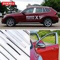 TOMMIA Volle Fenster Mittleren Säule Molding Sill Trim Chrom Styling Streifen Edelstahl Für BMW X1 2012 2015-in Chrom-Styling aus Kraftfahrzeuge und Motorräder bei