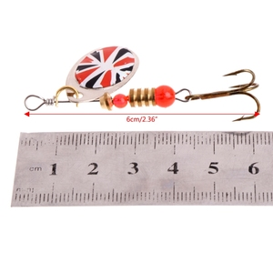 Image 5 - Fishing Lure easy shiner Fishing Spoon Lure Sequins Paillette Metal Hard Bait Double Treble Hook Tackle dropshipping