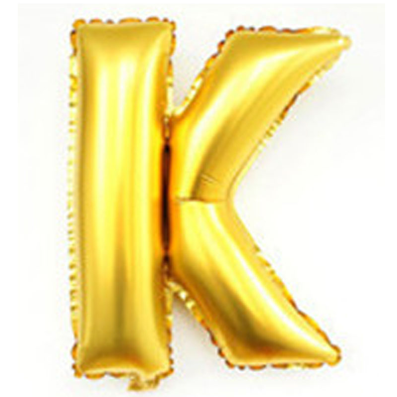 8f8f2ae0bd 40 inch alphabet balloons party decoration supplies large foil helium gold  silver birthday wedding giant letter balloons