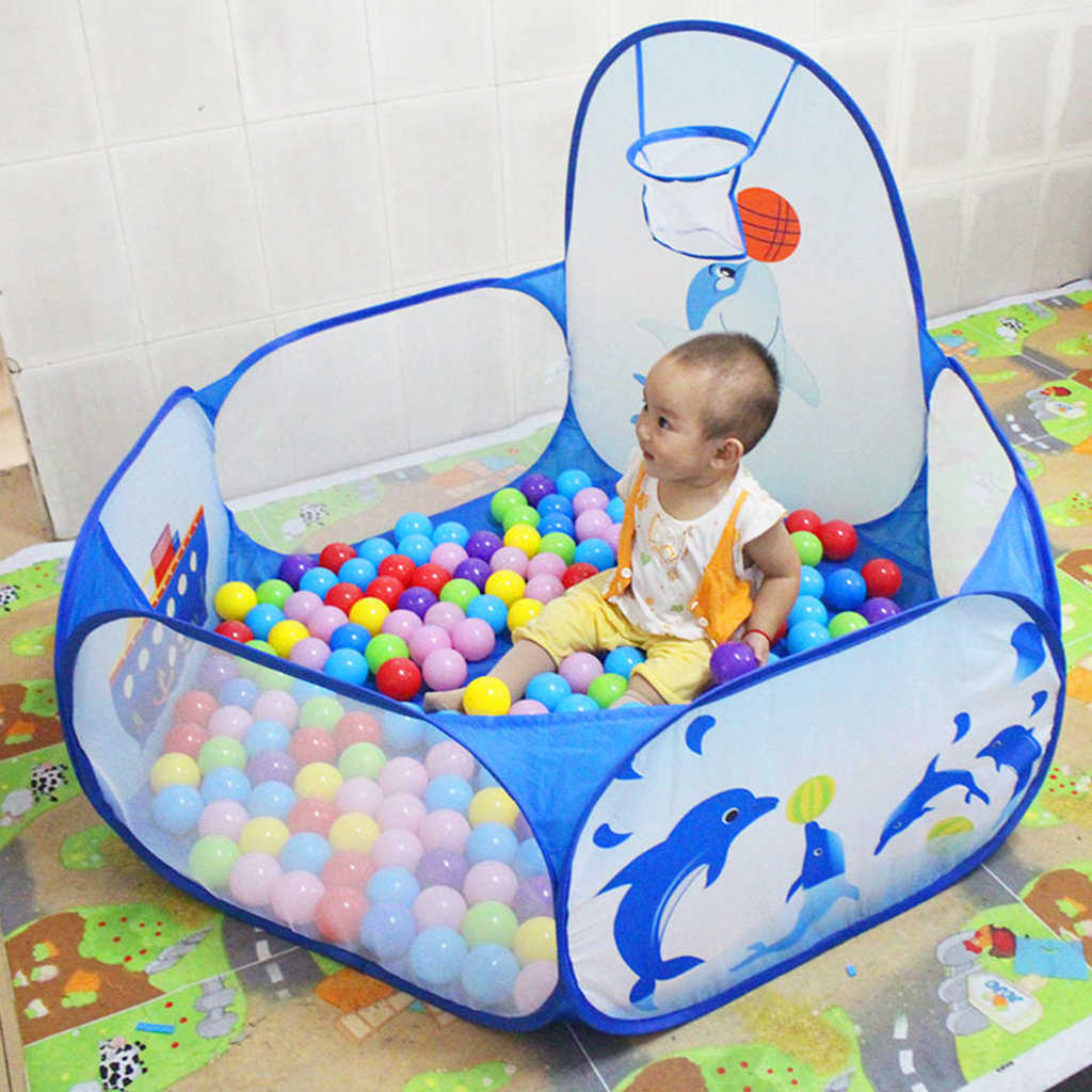 ... Fun Pop Up Ball Pit Pool Toddler Baby Play Tent Playhouse Playpen with Basketball Hoop Developmental ...  sc 1 st  AliExpress.com & Detail Feedback Questions about Fun Pop Up Ball Pit Pool Toddler ...