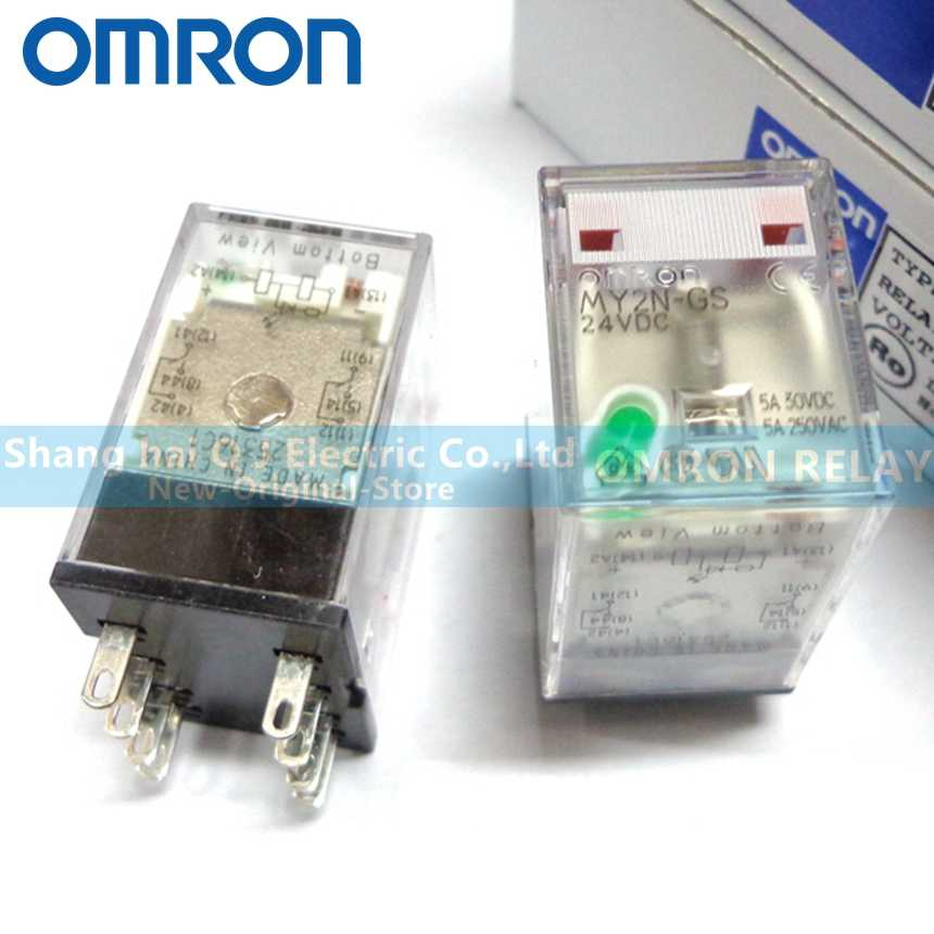 Diagram Omron My2n 240vac 24 Vdc