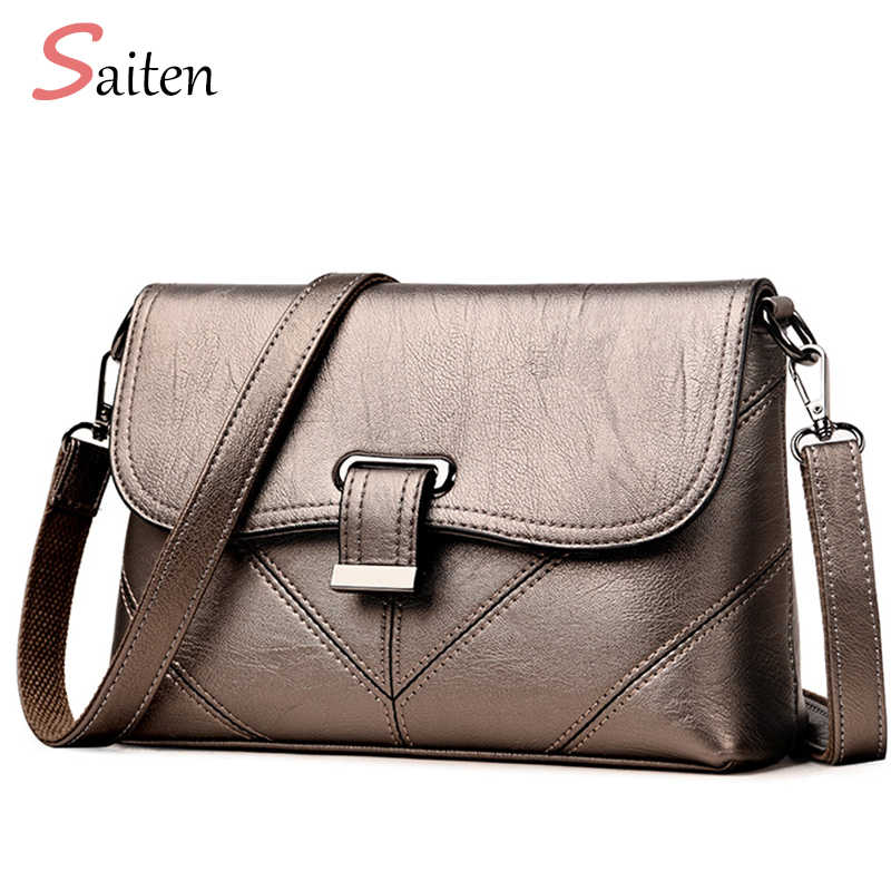 ... 2018 New Women Shoulder Bags Fashion Tote High Quality Hardware Bag  Shoulder Bags Female PU Leather ... 36d9b5683eb1d