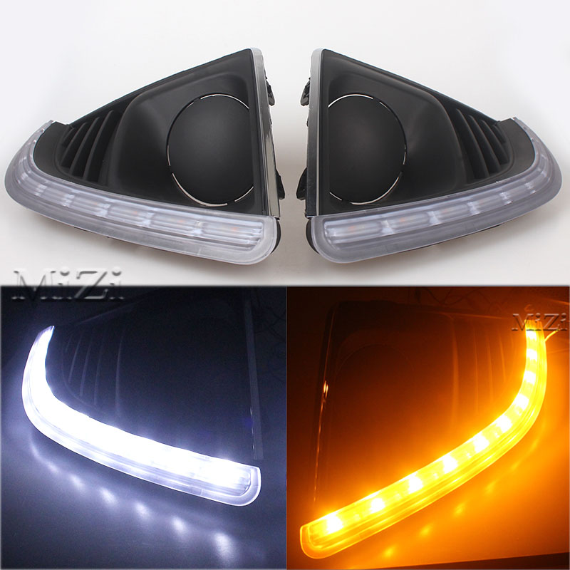 LED Daytime Running Light For Chevrolet Cruze FL FACELIFT 2013 2014 2015 wIth Turning Light and Dimming Function Brand New for chevrolet cruze tuning bi xenon projector lens head lights with led turn light 2015 year new arrival