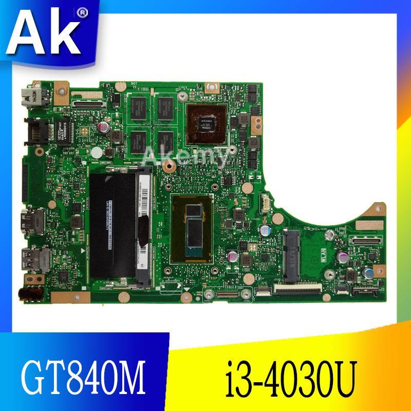 AK TP500LN Laptop Motherboard GT840M I3-4030U For ASUS TP500L TP500LN TP500LNG Test Mainboard TP500LN Motherboard Test 100% Ok