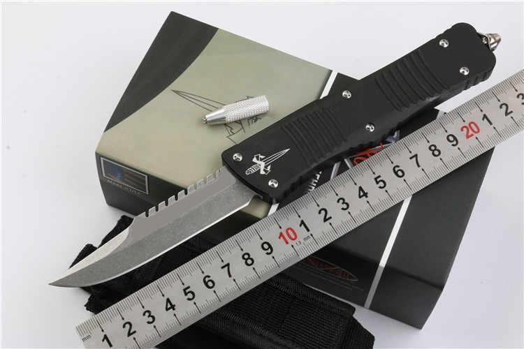 لانج UT70 D2 شفرة مقبض ألمونيوم التخييم بقاء في الهواء الطلق EDC هانت التكتيكية أداة عشاء المطبخ سكين
