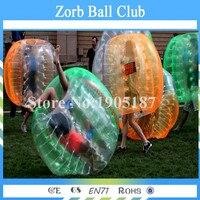 Бесплатная доставка красочный надувной Средства ухода за кожей бампер мяч Bubble пузырь стопы Зорб Футбол 1.5 метра для продажи