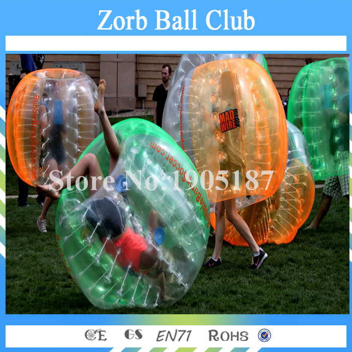 Free Shipping Colorful Inflatable Body Bumper Ball Bubble Ball Bubble Foot Zorb Soccer 1.5meter For Sale