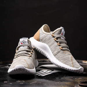 ca4d0b983b0a50 BomKinta Sport Running Shoes Big Size 48 Breathable Outdoor Sport Shoe  Couple Gold