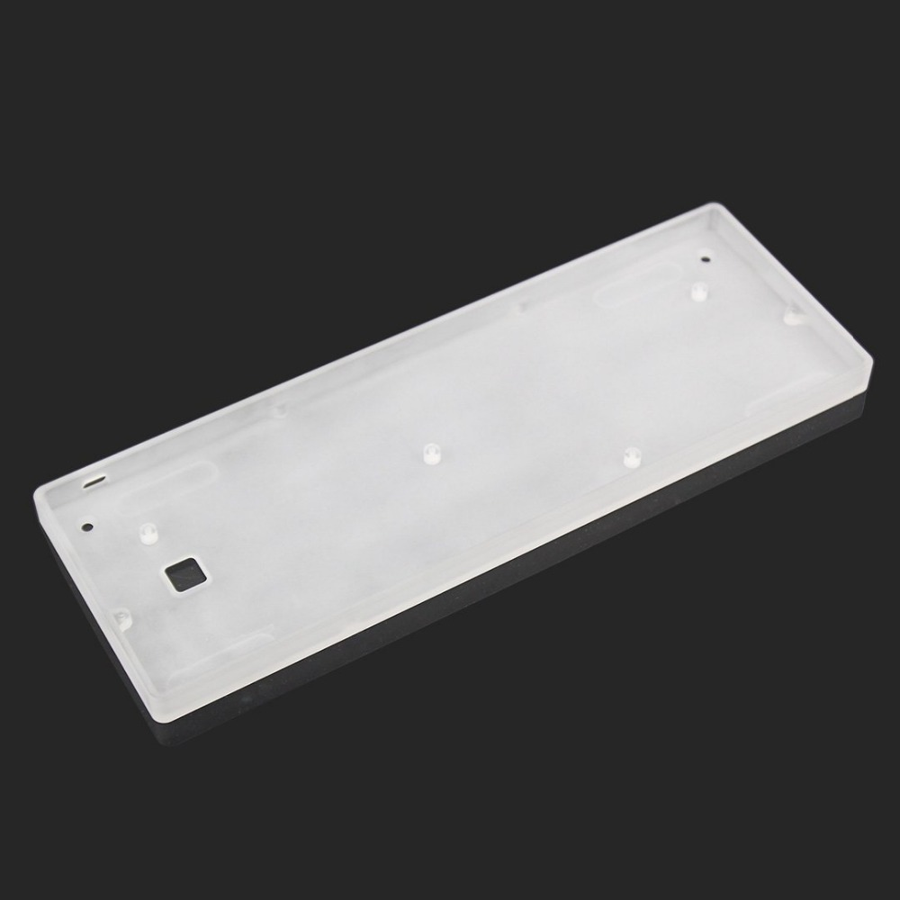 60 frosted acrylic case for 60 layout DZ60 GH60 mechanical keyboard
