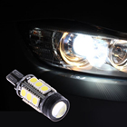 1Pcs 7.5W T15 W16W Reverse Light LED W2.1x9.5D Bulb 15SMD 5050 COB 921 Backup Parking Lights Wedge